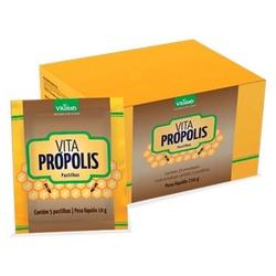 Pastilhas Vita Própolis Display 25 sachês x 5un - ... - Fitoflora Produtos Naturais