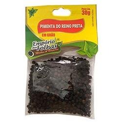 Pimenta do Reino Preta em Grãos 30g - 16190 - Fitoflora Produtos Naturais