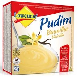 Pudim Baunilha Zero Açúcar 25g - 11517 - Fitoflora Produtos Naturais