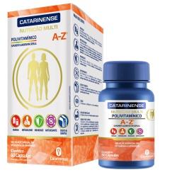Polivitamínico A-Z 60 Cápsulas - 17604 - Fitoflora Produtos Naturais