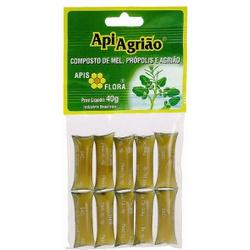 Apiagrião Sachê Mel Própolis E Agrião 40g - 293 - Fitoflora Produtos Naturais