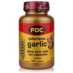 Óleo de Alho Sem Odor Garlic 100caps x 750mg - 441... - Fitoflora Produtos Naturais