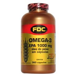 Óleo de Peixe Ômega3 EPA 360caps x 1000mg - 13904 - Fitoflora Produtos Naturais