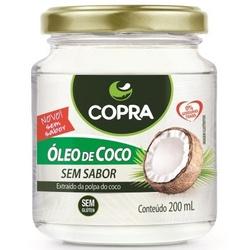 Óleo de Coco Sem Sabor 200ml - 14882 - Fitoflora Produtos Naturais