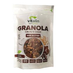 Granola Cacau e Coco Integral 200g - 16841 - Fitoflora Produtos Naturais
