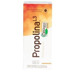 Propolina L3 Orgânica 250ml - 17547 - Fitoflora Produtos Naturais