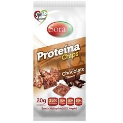 Proteína Chips Sabor Chocolate Display 10 x 20g - ... - Fitoflora Produtos Naturais