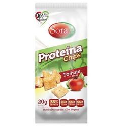 Proteína Chips Sabor Tomate com Ervas Display 10 x... - Fitoflora Produtos Naturais