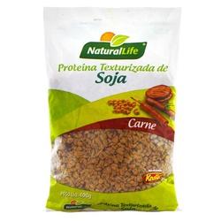 Proteína Texturizada de Soja Média Sabor Carne 400... - Fitoflora Produtos Naturais