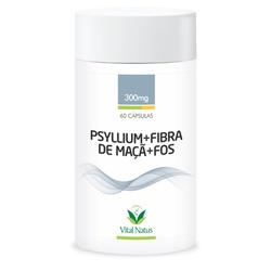 Psyllium Fibra de Maçã + Fósforo 60caps x 300mg - ... - Fitoflora Produtos Naturais