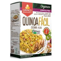Quinoa Fácil Castanha Orgânica 100g - 16938 - Fitoflora Produtos Naturais