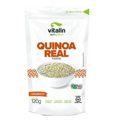Quinoa Real em Flocos Orgânica 120g - 15289 - Fitoflora Produtos Naturais