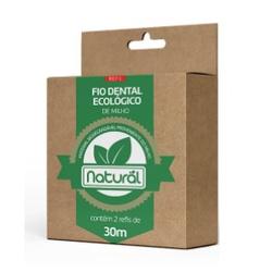 Refil de Fio Dental Ecológico de Milho 30m - 18131 - Fitoflora Produtos Naturais