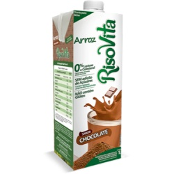 Bebida de Arroz Com Chocolate 1 litro - 16109 - Fitoflora Produtos Naturais