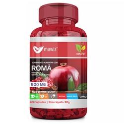Romã 60 cápsulas x 500mg - 16369 - Fitoflora Produtos Naturais