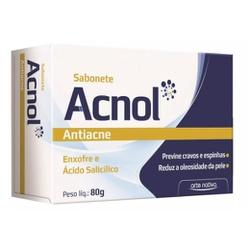 Sabonete Anti-Acne Acnol 80g - 2919 - Fitoflora Produtos Naturais