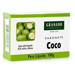 Sabonete Coco 100g - 878 - Fitoflora Produtos Naturais