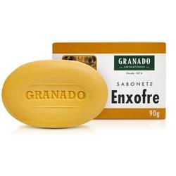 Sabonete Enxofre 90g - 882 - Fitoflora Produtos Naturais