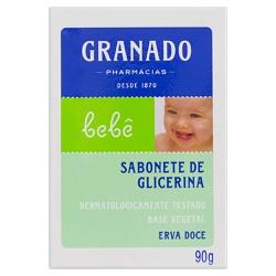 Sabonete Glicerina Bebê Erva Doce 90g - 10760 - Fitoflora Produtos Naturais