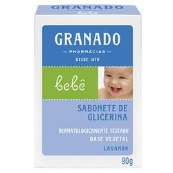 Sabonete Glicerina Bebê Lavanda 90g - 10838 - Fitoflora Produtos Naturais