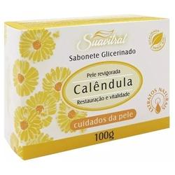 Sabonete Glicerinado Calêndula 100g - 1673 - Fitoflora Produtos Naturais