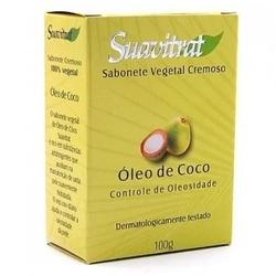 Sabonete Vegetal Cremoso Óleo de Coco 100g - 11210 - Fitoflora Produtos Naturais
