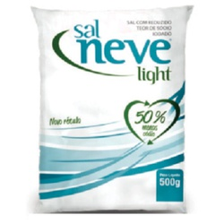 Sal Neve Light 500g - 184 - Fitoflora Produtos Naturais