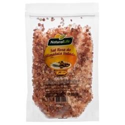 Sal Rosa do Himalaia Grosso Iodado 350g - 16081 - Fitoflora Produtos Naturais