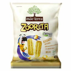 Salgadinho Zooreta Orgânico Integral Sabor Milho ... - Fitoflora Produtos Naturais