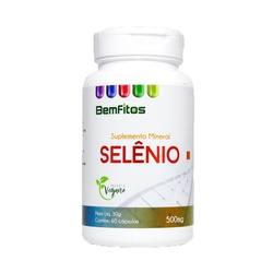 Selênio Vegano 60 X 500MG - 17014 - Fitoflora Produtos Naturais