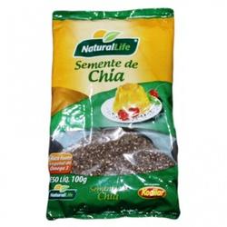 Semente de Chia 100g - 16086 - Fitoflora Produtos Naturais