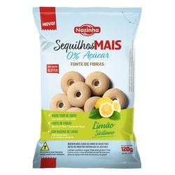Sequilho Mais Limão Siciliano 120g - 17028 - Fitoflora Produtos Naturais
