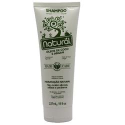 Shampoo Óleo de Coco e Argan 237ml - 16494 - Fitoflora Produtos Naturais