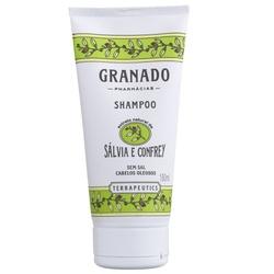 Shampoo Salvia e Confrey 180ml - 10097 - Fitoflora Produtos Naturais