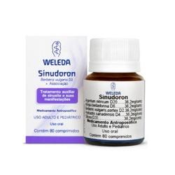 Sinudoron 80 comprimidos - 2671 - Fitoflora Produtos Naturais