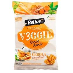 Veggie Snack Belive Assado Cebola Caramelizada 35g... - Fitoflora Produtos Naturais