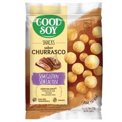 Snack de Soja Churrasco Light 25g - 12005 - Fitoflora Produtos Naturais