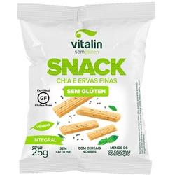 Snack Salgado Chia com Ervas display 12x25g - 1430 - Fitoflora Produtos Naturais
