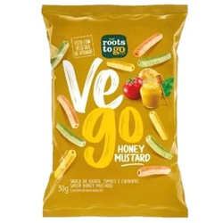 Snack Vego Honey Mustard 30g - 17741 - Fitoflora Produtos Naturais