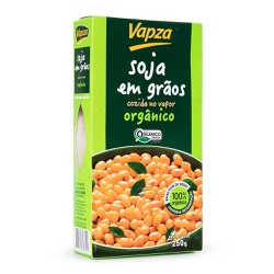 Soja em Grãos Orgânica Cozida no Vapor 250g - 1628... - Fitoflora Produtos Naturais