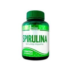 Spirulina 60 cápsulas - 11788 - Fitoflora Produtos Naturais