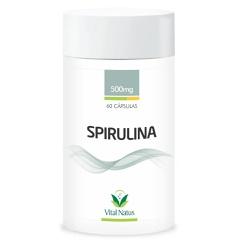 Spirulina 60caps x 500mg - 11340 - Fitoflora Produtos Naturais