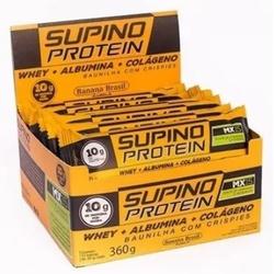 Supino Protein Baunilha Crispie Display 12 x 30g -... - Fitoflora Produtos Naturais