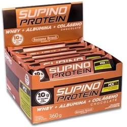 Supino Protein Chocolate Display 12 x 30g - 13767 - Fitoflora Produtos Naturais