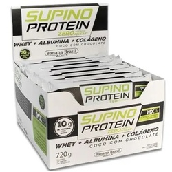 Supino Protein Zero Coco Com Chocolate Display 12 ... - Fitoflora Produtos Naturais
