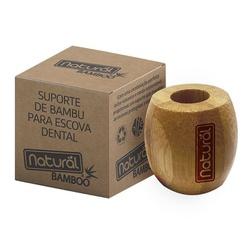 Suporte de Bambu Para Escova Dental - 18128 - Fitoflora Produtos Naturais