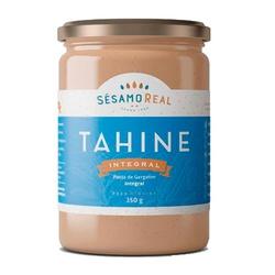 Tahine Integral Sésamo Real 350g - 15019 - Fitoflora Produtos Naturais