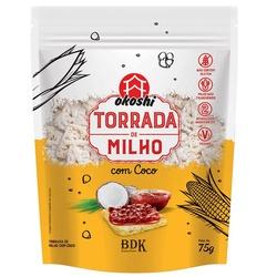 Torrada de Milho com Coco Veg 75g - 17365 - Fitoflora Produtos Naturais