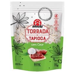 Torrada de Tapioca Com Coco Veg 75g - 17366 - Fitoflora Produtos Naturais