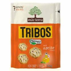 Biscoito Tribos Orgânico Azeite e Ervas 50g - 1408... - Fitoflora Produtos Naturais